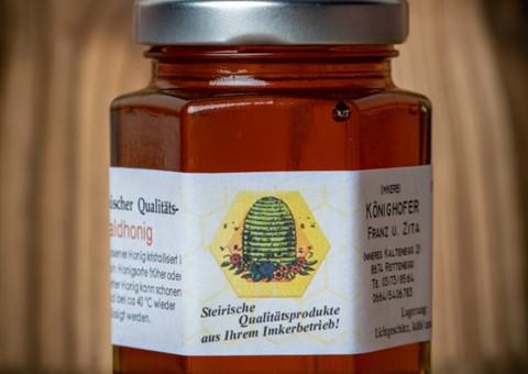 Blütencrèmehonig:   von der Imkerei Könighofer in Rettenegg