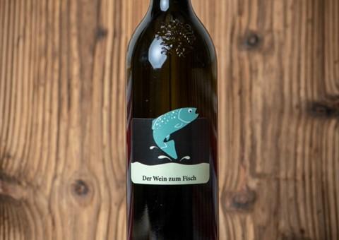 """""""Der Wein zum Fisch"""" 2020:   Wir leben auch für Wein. Franz Kapper kümmert sich liebevoll um die Weinrebe"""