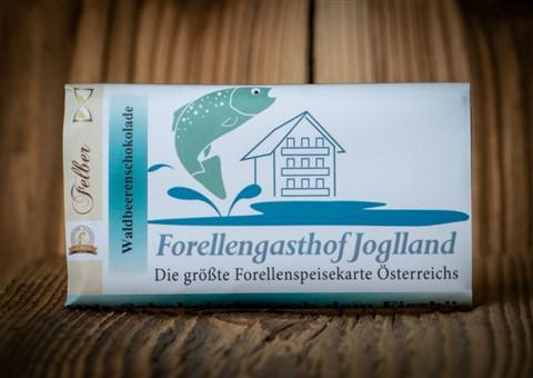Schokolade nach dem Fisch:   Köstliche handgeschöpfte Schokolade von Felber aus Birkfeld , je 70 g